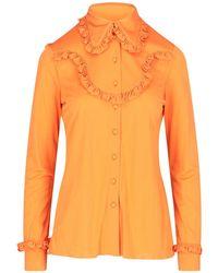Prada VISKOSE HEMD - Orange