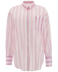 MSGM ANDERE MATERIALIEN HEMD - Pink