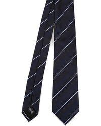 Emporio Armani Blue Silk Tie