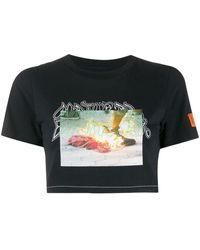 Heron Preston Cotton T-shirt - Black