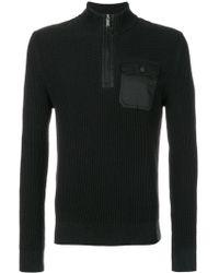 Michael Kors Cotton Sweater - Black