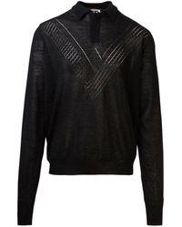 Jil Sander Jsmr751022mry20108001 Sweater - Black