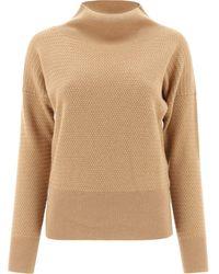 Fabiana Filippi Mad221w0671230 andere materialien sweater - Natur