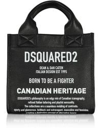 DSquared² Black Leather Handbag