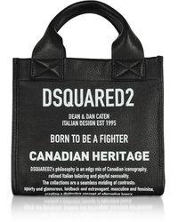 DSquared² Black Leather Handbag