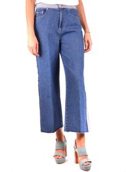 RED Valentino Cotton Jeans - Blue
