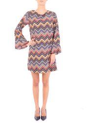 Molly Bracken - Multicolor Polyester Dress - Lyst