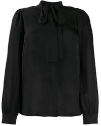 Michael Kors Silk Blouse - Black
