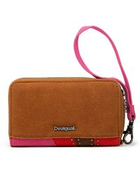 Desigual Brown Polyester Wallet