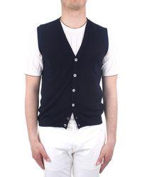 Zanone 811824zy318 Cotton Vest - Blue
