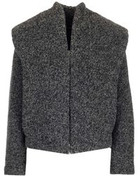 Isabel Marant Wool Coat - Grey