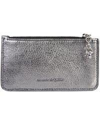 d3268d02b767 Alexander McQueen - Multicolor Leather Wallet - Lyst