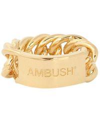 Ambush Bmoc001s21met0027600 silber ring - Mettallic
