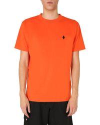 Marcelo Burlon BAUMWOLLE T-SHIRT - Orange