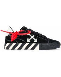 Off-White c/o Virgil Abloh 'Arrow Vulcanized' Sneakers - Schwarz