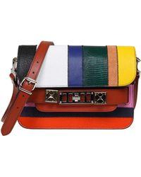 Proenza Schouler Multicolor Leather Shoulder Bag
