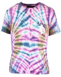 Amiri Cotton T-shirt - Multicolour