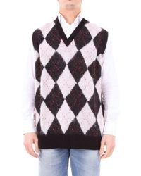 Alexander McQueen White Wool Vest
