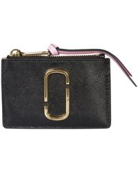 Marc Jacobs The Snapshot Top Multi Zip Wallet - Multicolour