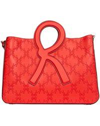 Roberta Di Camerino Polyurethane Handbag - Red