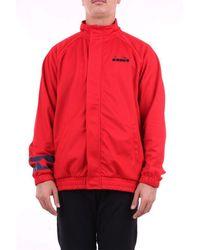 Diadora Sweatshirt With Red Zip