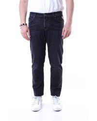 Roy Rogers Cotton Jeans - Black