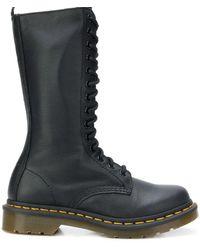 Dr. Martens Leather Boots - Black