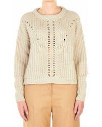 Ballantyne Sweater - Natural