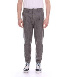 Michael Coal Black Wool Pants