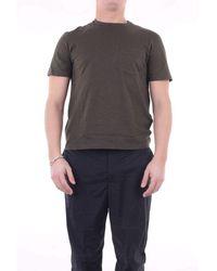 Neil Barrett Nail barrett militärisches grünes t-shirt - Grau