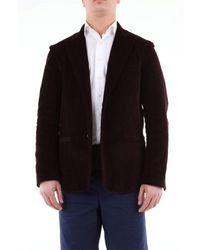 26.7 Twentysixseven Tsi19g05 Cotton Blazer - Brown