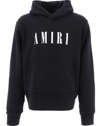 Amiri Mjlh003001 Cotton Sweatshirt - Black