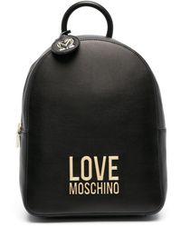 Love Moschino POLYESTER RUCKSACK - Schwarz