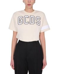 Gcds BAUMWOLLE T-SHIRT - Weiß