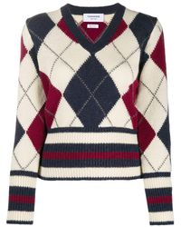 Thom Browne WOLLE SWEATER - Natur