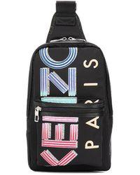 KENZO Black Polyamide Belt Bag