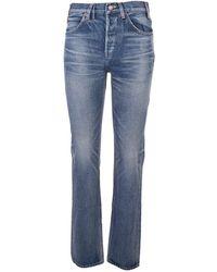 Celine Céline 2n213945f07uw Cotton Jeans - Blue
