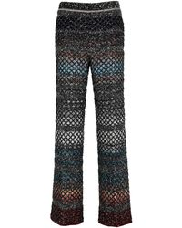 Missoni Wool Trousers - Multicolour