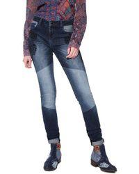 Desigual Blue Denim Jeans