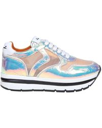 Voile Blanche - Multicolour Leather Sneakers - Lyst