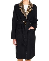 Liu Jo Black Wool Coat