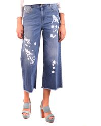 RED Valentino - Jeans cropped - Lyst