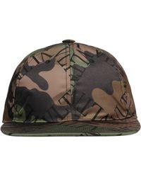 Valentino Brown Polyamide Hat