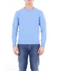 Della Ciana Wool Sweater - Blue