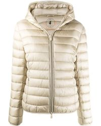 Save The Duck Polyamide Down Jacket - Natural