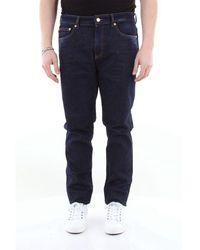 Love Moschino Liebe moschino 5-pocket jeans aus stretch-baumwolle - Blau