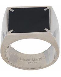 Maison Margiela ANDERE MATERIALIEN RING - Schwarz
