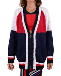 Tommy Hilfiger Multicolour Cotton Cardigan
