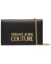 Versace Jeans Couture 71va5pl671879899 polyurethan schultertasche - Schwarz