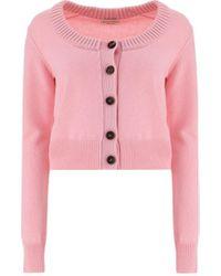 Alexander McQueen 679419q1axi5072 andere materialien sweater - Pink